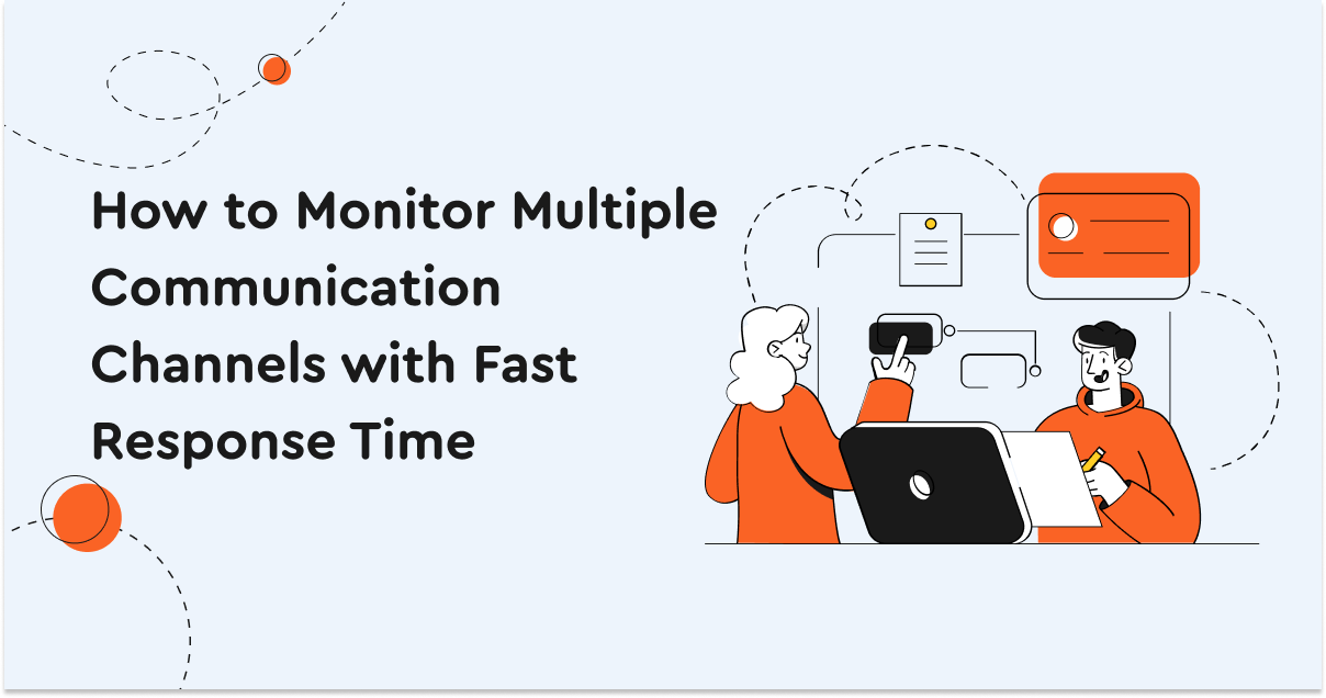 How to Monitor Multiple Communication Channels with Fast Response Time